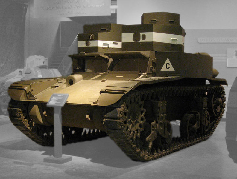 After the M1 Combat Car, the M2 was the first model available in numbers when the war began in 1939.