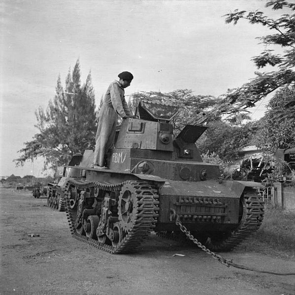 Marmon Herrington CTLS in Surabaya, in service with the KNIL (Dutch East Indies Army), 1942.