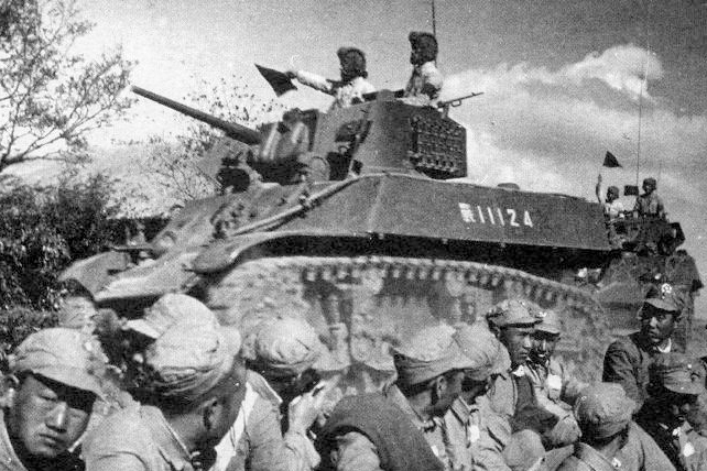 KMT M3A3 Stuart. Date and location unknown.