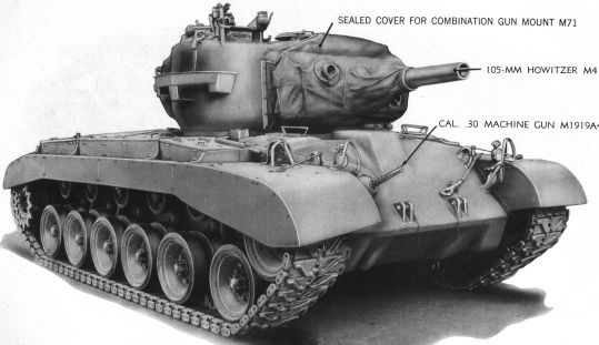 Medium/Heavy Tank M26 Pershing - Tank Encyclopedia