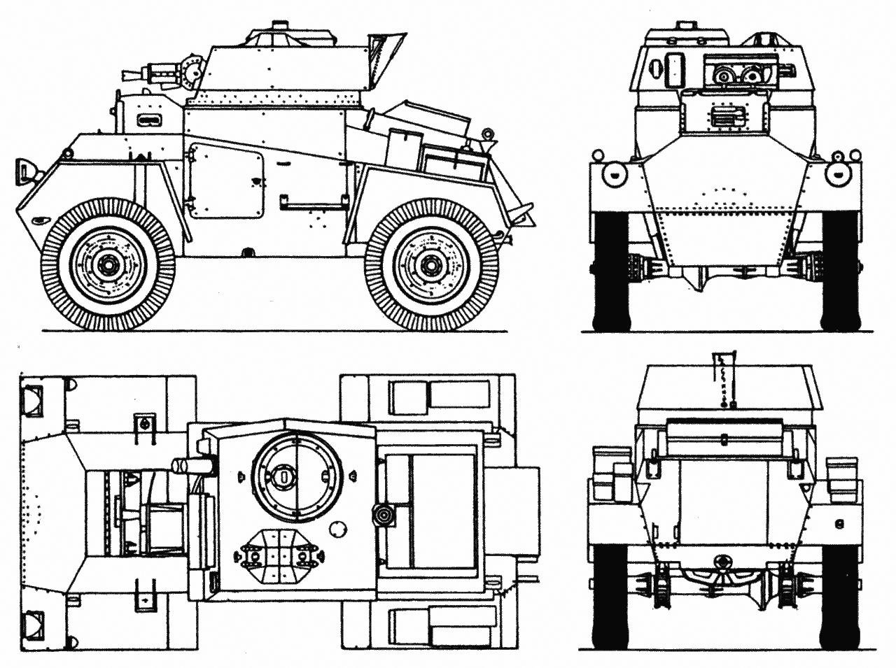 Guy armoured car guy mark i armoured car 4 view drawing malvernweather Images