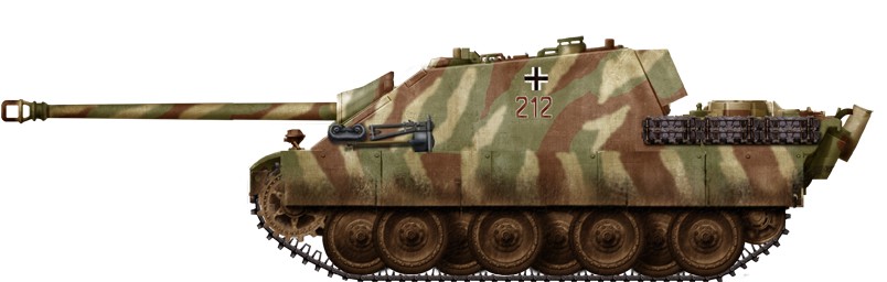 Jagdpanther in the Ruhr pocket