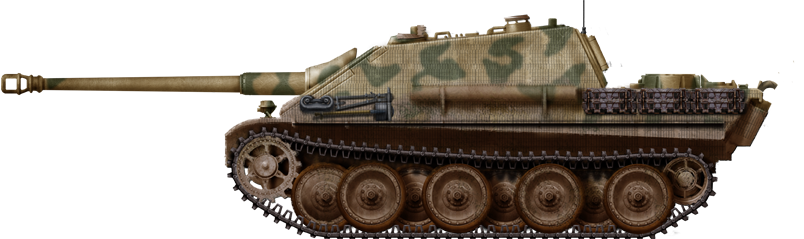Another Jagdpanther of the SpzAbt 654 Fr 1944