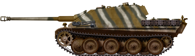 Another Jagdpanther on the Eastern Front