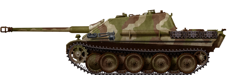 Jagdpanther in 1945