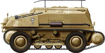 SdKfz 254 with the Afrika Korps