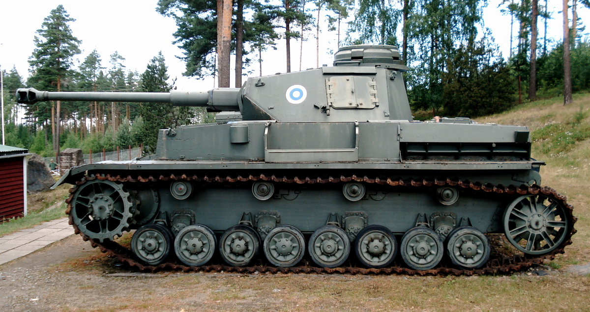 By 1944, only 15 Panzer IV Ausf.Js were delivered to the Finnish Army.