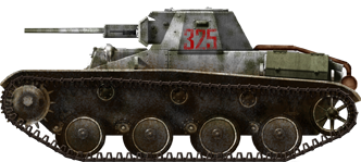T-60 model 1942 during the winter of 1942-43.