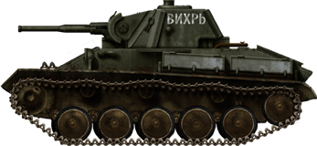 T-70M from the 28th Guards Tanks Brigade