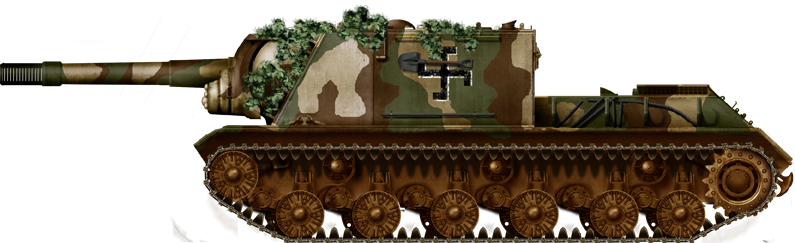 The monstruous ISU-152 in Finnish service
