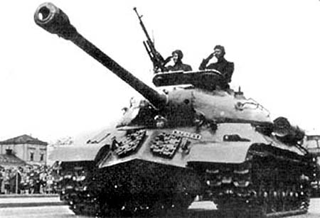 IS-3 in Czechoslovakia after the war