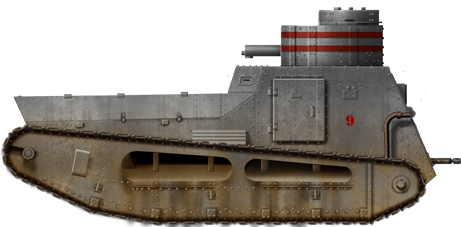 The Stridsvagn M21 was the first Swedish tank in service, also helping to create the first operational unit used for training until 1938.