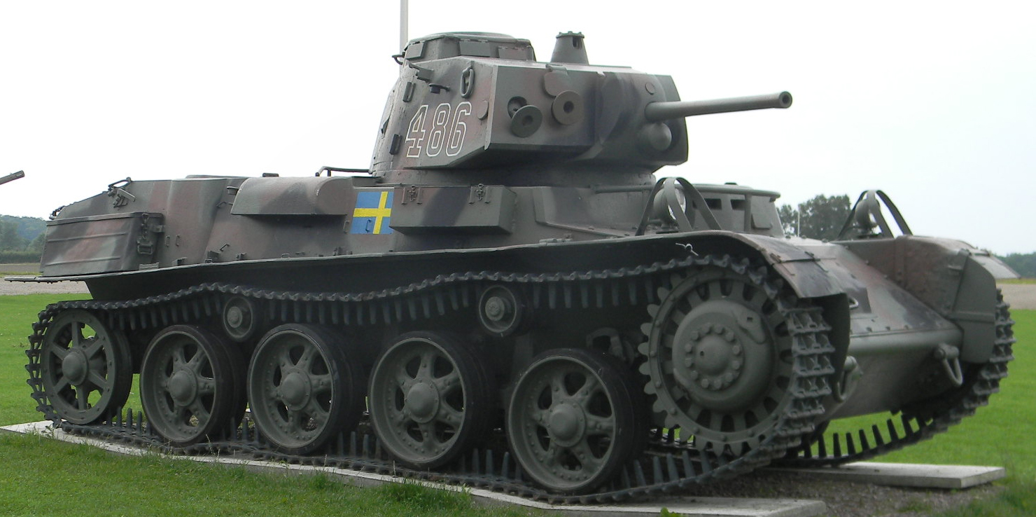 The Landsverk L-60, which made up a third of the active Swedish tank force in WW2.